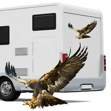 Eagle Camper In Vinile Grafica-camper AUTO caravan horsebox Adesivi Decalcomanie