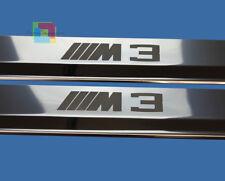 BMW SERIE 3 E36 COUPE BATTITACCO ADESIVO LOOK M3 CROMATI 2 PEZZI