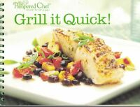 The Pampered Chef GRILL IT QUICK Cookbook Spiral Bound