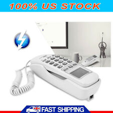 Landline Phone Corded Home Office Desk Wall Telephone Large Display