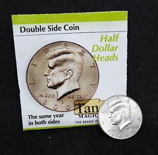 Double Side Coin, Half Dollar Head, Tango Magic Coin, Zaubermünze, Trickmünze