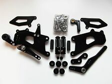 Triumph Daytona 675R 13 14 15 16 race-europe REARSET XP Black NEW