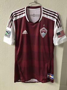 Adidas 2013 Colorado Rapids MLS Home Soccer Jersey Small Kamara Vintage Futbol