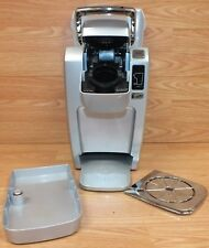 Genuine Keurig (K10) Gray & Silver Mini Personal Coffee Maker / Brewer READ