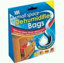 SMALL SPACE DEHUMIDIFIER BAGS SACHETS INTERIOR  DRAWER MOISTURE MOULD ABSORBERS