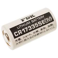 1 x FDK  CR17335 2/3 A Sanyo 3V 1800mAh