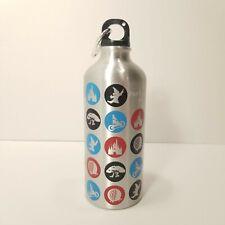 Wdw Walt Disney World Metal Reusable Water Bottle 4 Parks Icons Sorcerer Hat
