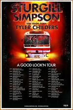 STURGILL SIMPSON | TYLER CHILDERS Good Look'n Tour 2020 Ltd Ed RARE Poster!