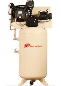 80 Gallon Air Compressor - Reciprocating - 7.5 HP - 230 Volts - 1 Phase