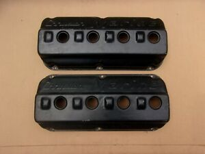 NICE Chrysler MARINE 331 354 392 HEMI Dimpled Valve Cover Set