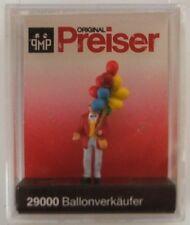 Preiser 29000 Man Selling Balloons 00/H0 Model Railway Figure