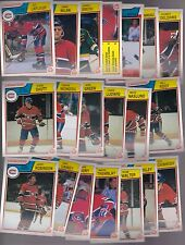 1983 - 84 OPC Team SET Lot of 20 Montreal CANADIENS NM+ o-pee-chee LaFLEUR SHUTT