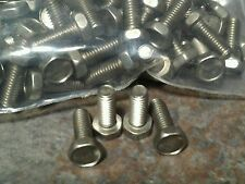 Non magnetic stainless steel 10-32 hex head bolt 1/2 inch long 100 pc.