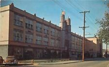 Beaver Falls Pennsylvania~Beaver Falls High School~1950s Car~Postcard