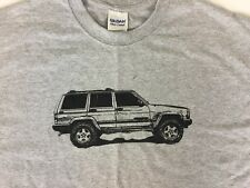 Jeep XJ Cherokee T Shirt. LRG