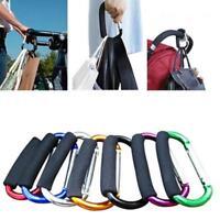 Trendy Baby Pushchair Stroller Clip Hook Buggy Pram Diaper Bag Hanger NEW - S