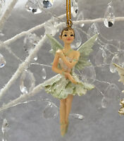 Gisela Graham 10cm Fairy Ballerina Princess Decoration Christmas Tree Vintage