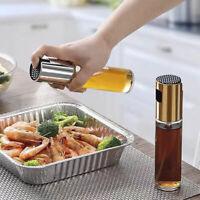 Kitchen Olive Oil Sprayer Dispenser For BBQ/Cooking/Vinegar Glass Bottle