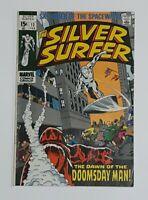 THE SILVER SURFER #13 MARVEL COMICS 1970 DL