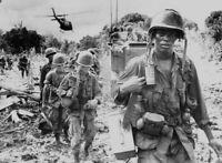Photo guerre du Vietnam soldats us américains format 10x15 cm n413