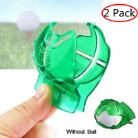 Golf Ball Marker Line Marking Alignment Tool Kit With Free Pens 2 Pack US Ship