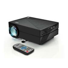 Digital Multimedia Projector, HD 1080p Support, MP3/USB/SD/AV/VGA MAC & PC