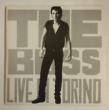 Bruce Springsteen The Boss Live In Torino 4-LP Portada gatefold