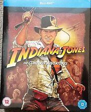 Indiana Jones The Complete Adventures Blu-ray Region Free New!