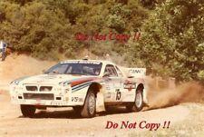 Attilio Bettega MARTINI LANCIA 037 RALLY ACROPOLIS RALLY 1983 fotografia 2