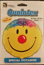 Brand New Qualatex Smiley Face Foil 18 Inch Balloon
