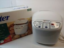 Oster 5838 ExpressBake Bread Maker Machine 2lb Loaf With Book - Tested & Clean