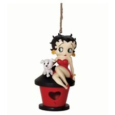 Betty Boop with Pudgy the Dog Resin Birdhouse