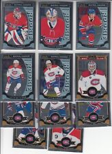 15/16 OPC Platinum Montreal Canadiens Team Set w/RC`s - Price Pacioretty Hudon +