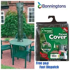 Kingfisher Green Waterproof Garden Furniture Patio Parasol Umbrella Cover CA