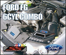 FORD FG 6CYL GROWLER COMBO - SS INDUCTIONS GROWLER COLD AIR INDUCTION KIT