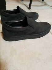 Wings and Horns mens size 42 Black Slip on shoes