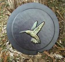 Hummingbird small stepping stone concrete plaster mold mould