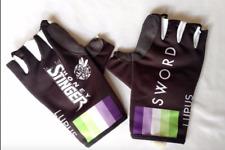 New 2016 Men's Biemme Lupus Pro Cycling Race Gloves, Black, Size Large