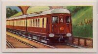 1934 Brighton Belle Pullman Train Southern Railway Locomotive Vintage Trade Card
