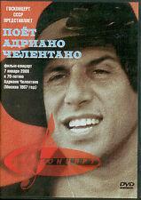 DVD ADRIANO CELENTANO concerto a mosca 1987