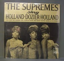 The Supremes Sing Holland Dozier Holland Motown 650 Mono Original Sealed Mint