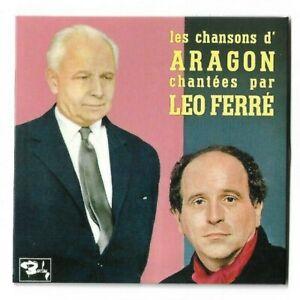 LEO FERRE : ARAGON - L'AFFICHE ROUGE ( 3 inédits CD issus des archives de Léo )