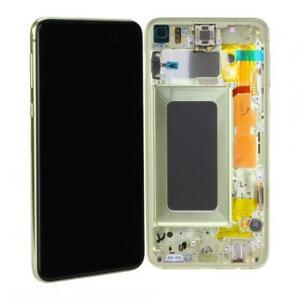 Original Samsung Galaxy S10e (G970F) LCD Display Ersatz Touch - Canary Yellow