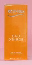 Biotherm EAU D`ENERGIE Eau de Toilette Spray 50ml, NEUWARE, Originalverpackt