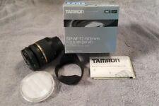 Tamron SP B005 17-50mm f/2.8 Di-II XR IF VC AF Lens For Nikon - USED