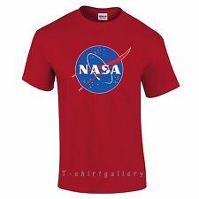 NASA t shirt T-SHIRT SPACE ASTRONAUT GEEK NERD STAR LOGO LADIES MEN KIDS T SHIRT