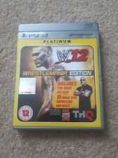 WWE '12 WrestleMania Edition (PS3)