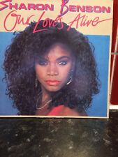 Sharon Benson 7ins Vinyl - Our Loves Alive - Vocal & Instrumental