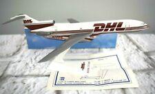 "DHL Worldwide Express Boeing 727-200 Airplane Desk Top Model Long Prosper 8.25"""