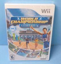 World Championship Athletics Nintendo Wii BRAND NEW FACTORY SEALED